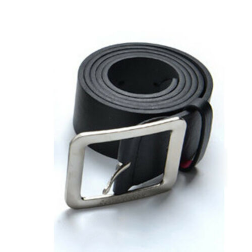 Women/'s Casual Men/'s Leather Belt Pin Belts Waistband Buckle Waist Stra Hot