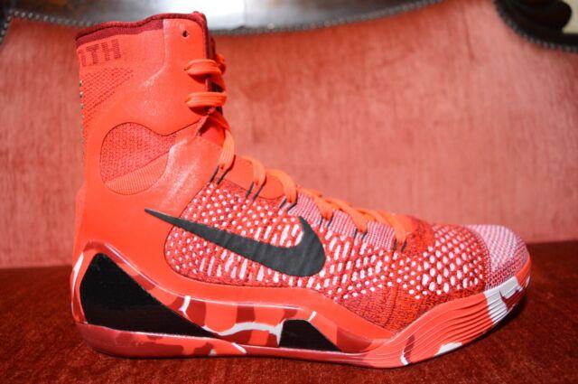 1552faee41bf WORN TWICE Nike Kobe 9 IX Elite Christmas Size 11 XMAS Red Crimson  630847-600