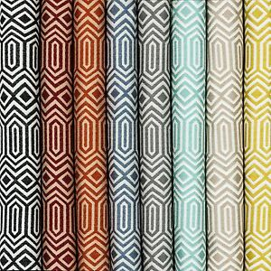Image Is Loading Mcalister Textiles Colorado Geometric Pattern Design Upholstery Fabric