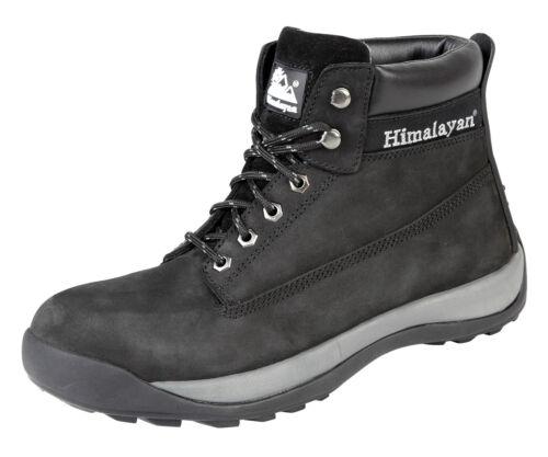 Himalayan 5140 SBP SRA en nubuck noir Iconic steel toe bottes de sécurité travail botte ppe
