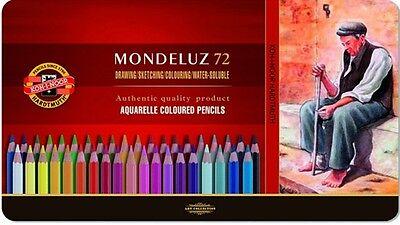 Koh-i-noor 72 Mondeluz Aquarelle Colored Pencils 3727 by Koh-I-Noor