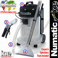 Numatic Ctt470-2 Professional Car Valeting Carpet & Upholstery Cleaner Machine