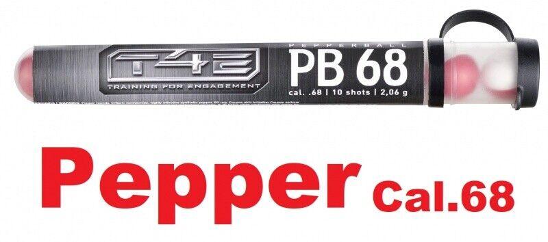 T4e pb68 pepperballs PEPE proiettili cal.68