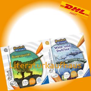RAVENSBURGER-tiptoi-Dinosaurier-Tiptoi-Wale-und-Delfine-Annette-Neubauer