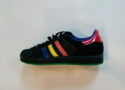 adidas superstar green and orange