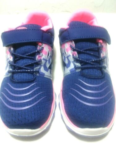 ATHLETIC WORKS-YOUTH GIRLS 10,11 MULTI-COLOR-PREMIUM-LIGHTWEIGHT-AHLETIC SHOES,