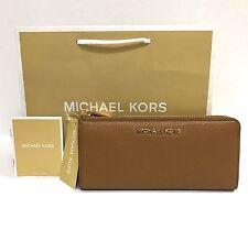 Michael Kors * Bedford 3 Quarter Zip Leather Wallet in Acorn COD PayPal