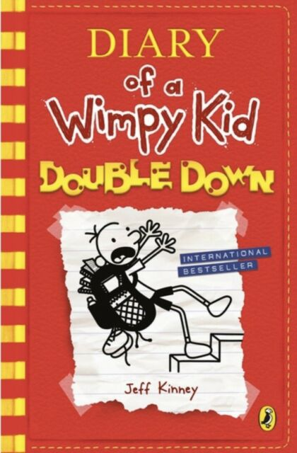 Diary of a Wimpy Kid Double Down, Book 11by Jeff Kinney,