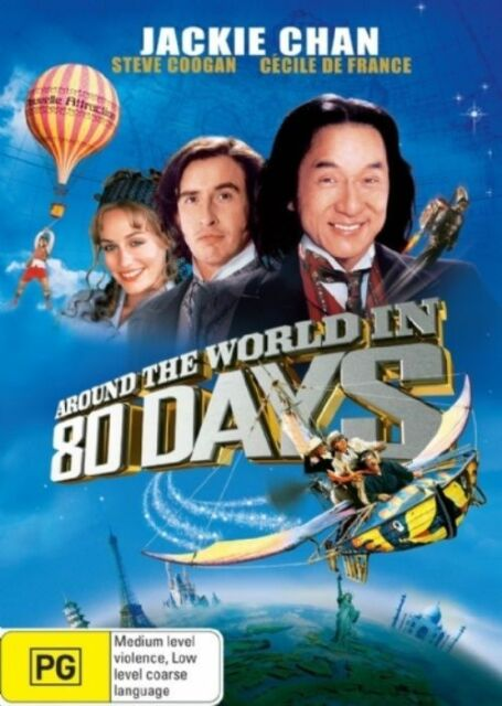 Around the World in 80 Days (DVD) Jackie Chan # 0641