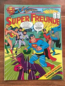 SUPERMAN SUPER FREUNDE ALBUM Nr. 5 Ehapa 1981 Schwarze Orchidee