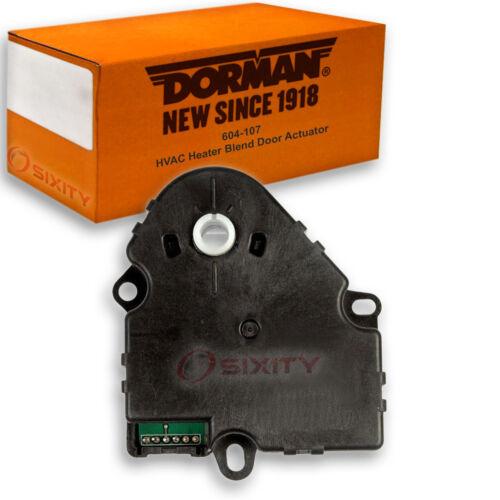 Dorman OE Solutions 604-107 HVAC Heater Blend Door Actuator for 16124932 by