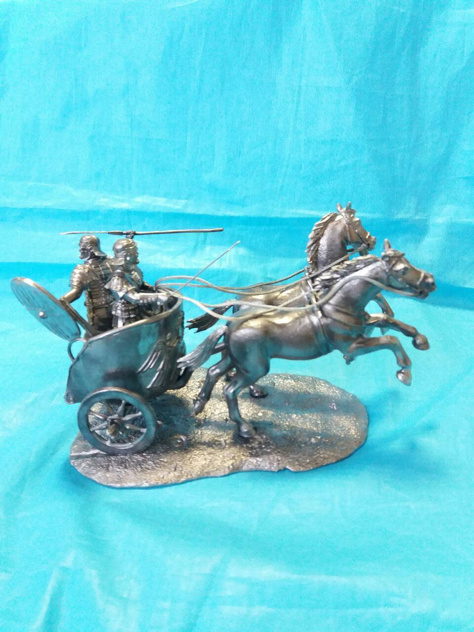Lead soldier toy.The Roman Chariot,detailed toy,rare,collectable,gift