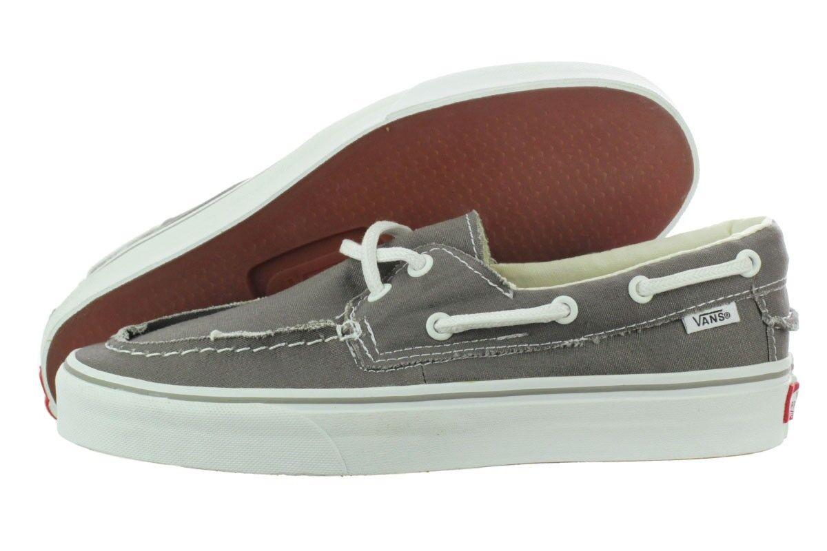 Original Vans Zapato Del Barco VN-0XC3195 Grey Canvas Casual Men