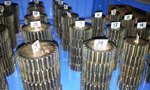 Modul2 Material C45 ETZR-M2-37 Mold2 Zahnrad Zähnezahl 37
