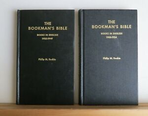 The-Bookman-039-s-Bible-Vols-2-amp-3-Roskie-Books-in-English-1900-1949