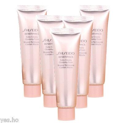 Shiseido Benefiance Extra Creamy Cleansing Foam 30ml x 2 = 60ml Sample