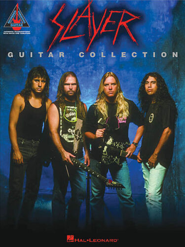 SLAYER GUITAR COLLECTION TAB SONG MUSIC BOOK NEW