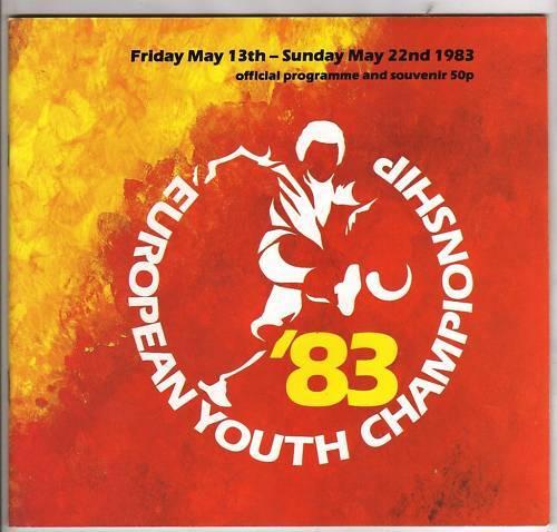 Orig.PRG     U18 EM   ENGLAND   1983 mit Deutschland