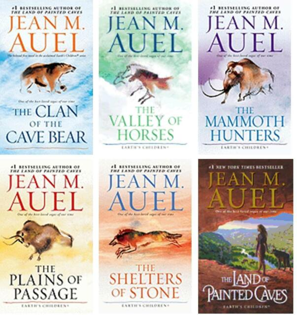 Earth's Children Complete Paperback Collection Series Set Books 1-6 by Jean Auel