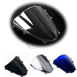 Windshield-Windscreen-Dual-Bubble-For-Suzuki-GSXR1000-K9-2009-2016-10-11-12-13