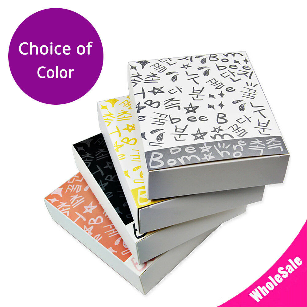 5x6.5in Matte Farbe w  Printing Paper Boxes For Facial Mask (H 1.5in) M04