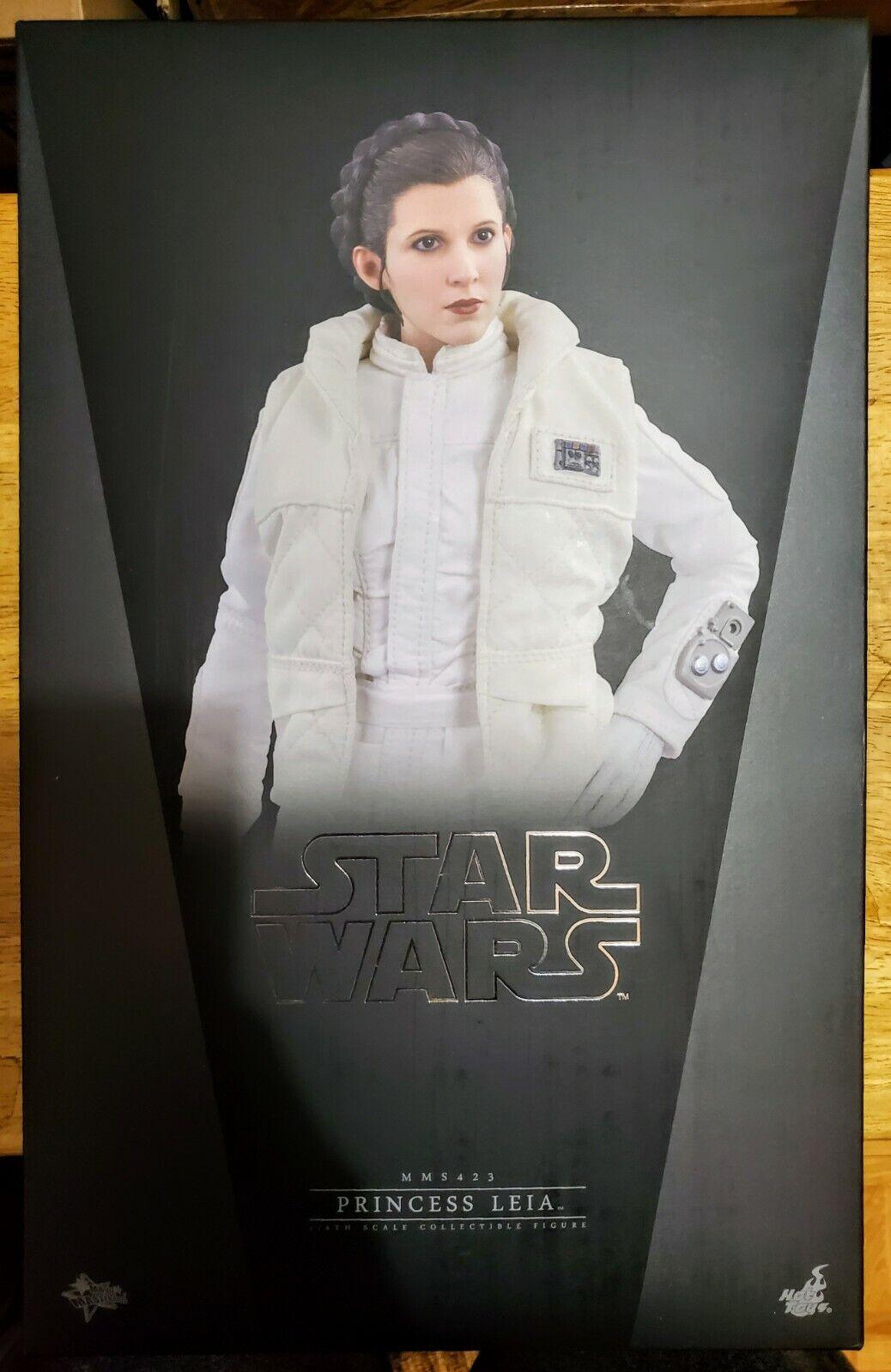 Hot Toys MMS423 Star Wars Empire Strikes Back Princess Leia Hoth 1/6 Figure ESB on eBay thumbnail