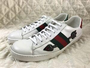 Ace white Beeding Arrow Sneakers size