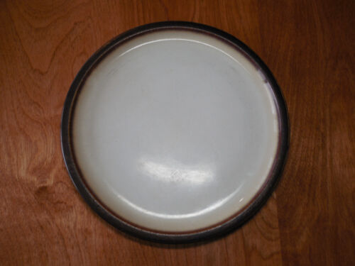 "Home THIRA CREAM Dinner Plate 10 3//4/"" Cream w Metallic Brown   19 available"