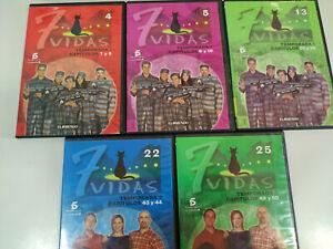 7-VIDAS-Paz-Vega-Javier-Camara-5-DVD-10-CAPITULOS-DVD-EXTRAS-Region-2