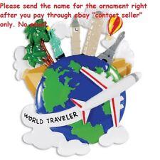 World Traveler London Suitcase Christmas Ornament