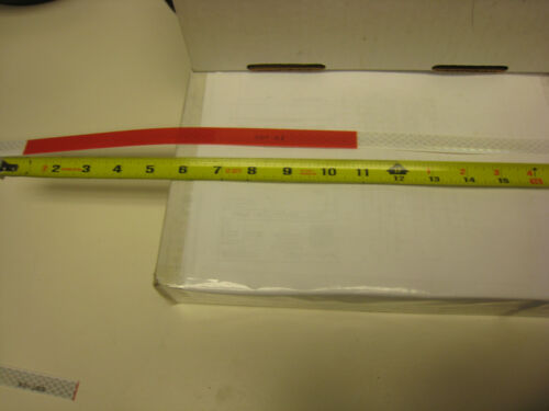 """1   WHITE RED Reflective   Conspicuity Tape  3//4/"""" x 50/'  7-11  DOT-C2"""