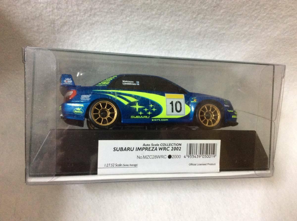 Kyosho  Mini-Z corpo Subaru Impreza WRC 2002 Makinen Autoscale  in linea