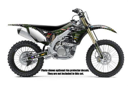 ALL YEARS KX 60 GRAPHICS KIT KAWASAKI KX60 85-04 DECO DECALS STICKERS MOTOCROSS