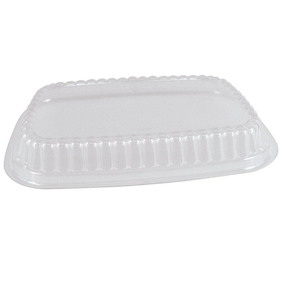 25 x Platter Lids Clear Strong Plastic Rectangle - Large 40x33cm