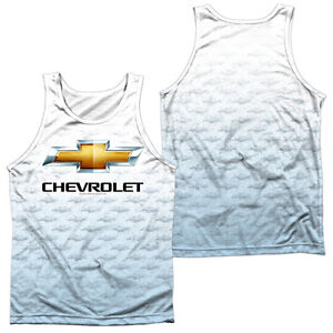 Details About Chevy Heartbeat Licensed Men S Graphic Tank Top Sleeveless Tee Sm 3xl