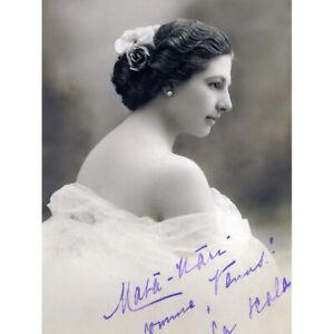 Autographed-Portrait-Dancer-Spy-Mata-Hari-Photo-Canvas-Art-Print-Poster