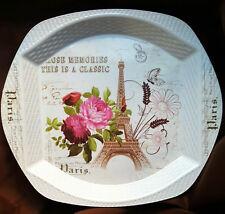 "Supreme Housewares  Damask Floral Melamine 17/"" Rectangular Tray"
