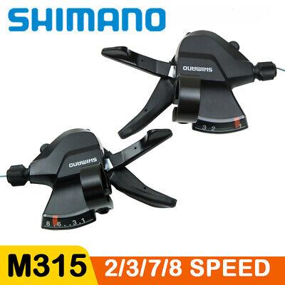 Shimano Altus SL-M315 2//3//7//8 Speed Shifter Trigger Set Rapidfire Update of M310