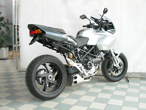 Ducati Multistrada 1000 1100 Ex Box Stainless Steel Qd Exhaust System Motogp Ebay