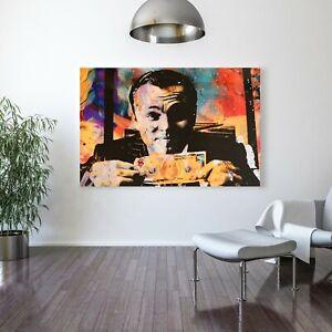 Details About Motiv Art Wolf Of Wall Street Painting Wolf Of Wall Street Wall Art Canvas G
