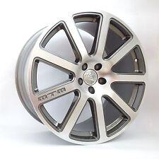 MTM Bimoto Felge 10,5x21 5x112 ET40 57,1 Titan-Poliert Audi VW Bentley Alufelge