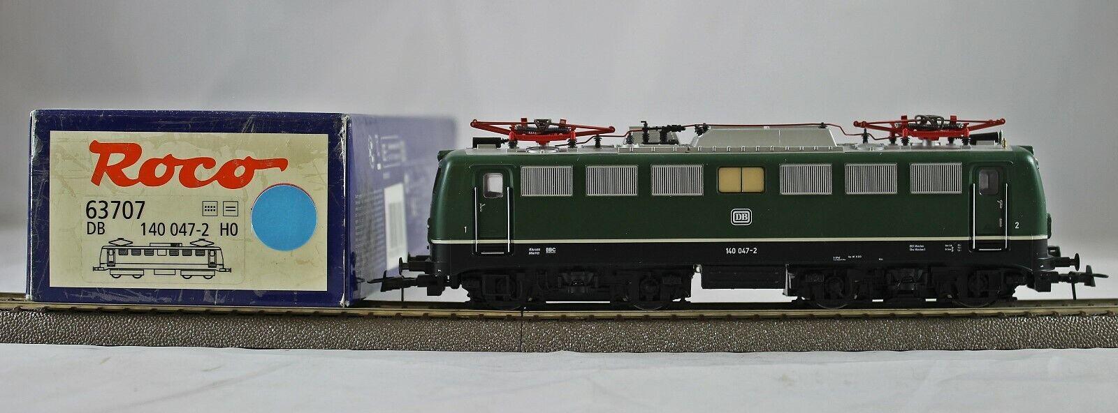 Roco 63707 elektrolokomotive br 140 de la DB de colección con embalaje original dc