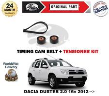 FOR DACIA DUSTER 2.0 16v 2012 --  NEW TIMING CAM BELT TENSIONER KIT