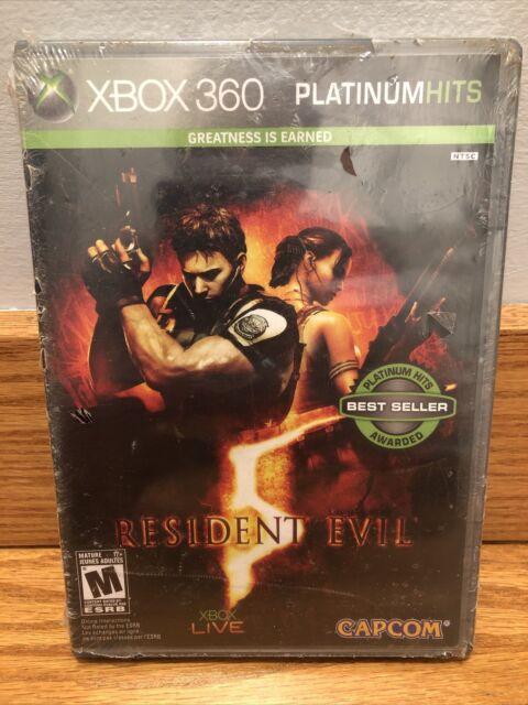 Resident Evil 5 Microsoft XBox 360 Brand New Sealed!