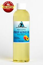 APRICOT KERNEL OIL REFINED ORGANIC CARRIER COLD PRESSED 100% PURE 4 OZ