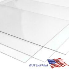 Superior Quality Multiple Size Options 2mm Perspex Clear Arcylic Plastic Sheet Panel 420 x 594 mm // A2