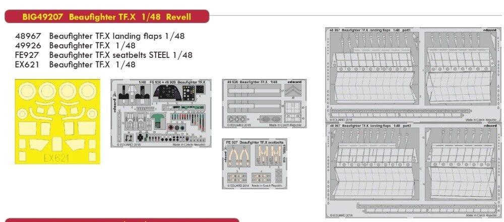 Eduard Big Ed 49207 1 48 Bristol Beaufighter TF Mk.X Revell