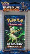 Pokemon TCG Platinum Rising Rivals Blister Booster Pack Unweighed NEW