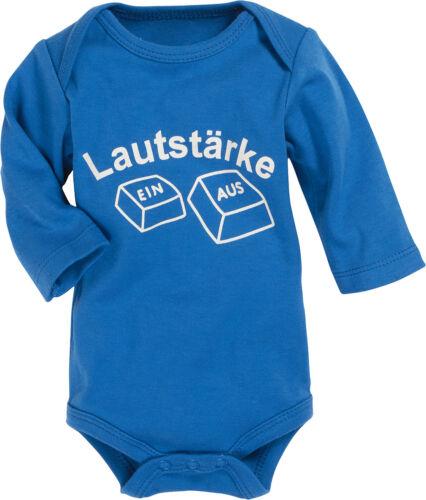 Schnizler Baby Body Lustige Sprüche Kurzarm Langarm Baumwolle Ökotex Playshoes