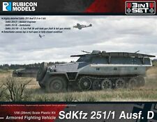 Rubicon Models: 280019 - German SdKfz 251/1 AUSF D Half-Track 3-in-1 Bolt Action